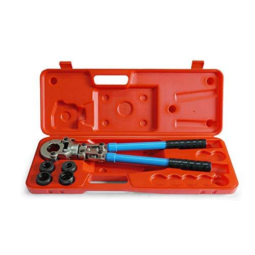 Pipetec Pressfitting Zange Handpresszange 16/20/26/32 mm TH Kontur Profil Crimpzange Presszange Pressfittinge PEX Verbundrohr