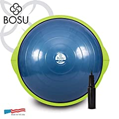 BOSU Spot Balance Trainer is an unstable, dynamic surface to work out on that helps increase upper and lower body strength along with important core muscles. Same sturdy dome material as the BOSU Home Balance Trainer but in a compact, more portable s...