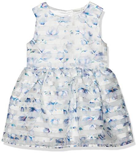 NAME IT Mädchen NMFFREIA Spencer Kleid, Weiß (Snow White Snow White), (Herstellergröße: 110)