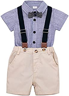 Baby Boys Clothes Letter Printted Short Sleeve T-Shirt and Short Pants Toddler Kids Summer Outfits Set