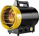 Calentadores de Interior Calentador eléctrico, 3kw Calentador de ventilador industrial pequeño portátil, calentador de ventilador de tambor comercial for garaje Workshop Warehouse Calentador de Calefa