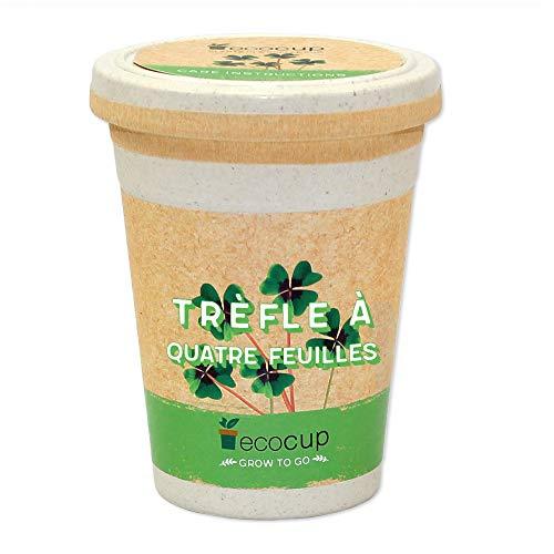 Feel Green Ecocup, Trèfle À Quatre Feuilles, Idée Cadeau (