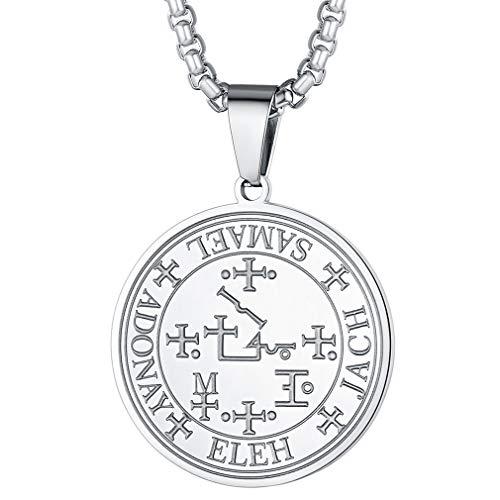 FaithHeart Ronda Amuleto de Protección Sello Arcángel Anael Collares