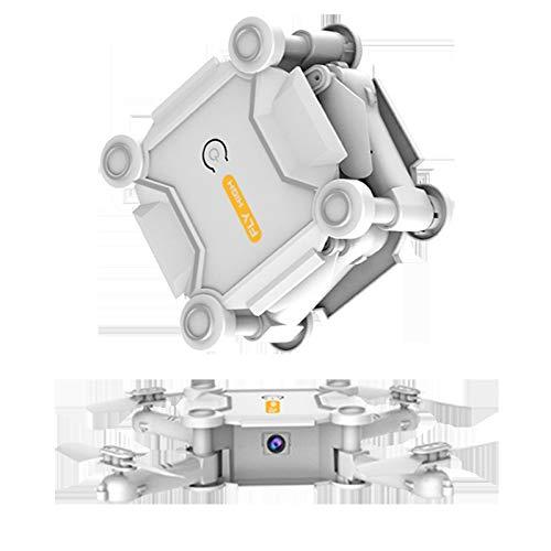 MILASIA Drone GPSWiFi FPV con Motor sin escobillas Versión Mejorada Cámara Gran Angular Función Altitud Suspensión Posicionamiento GPS