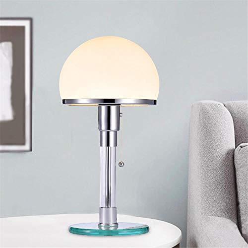 Designer LED Tischleuchte Wilhelm Wagenfeld Bauhau Tischlampen Schreibtischleuchten Schlafzimmer...