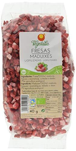 Vegetalia, Fresa deshidratada  - 40 gr.