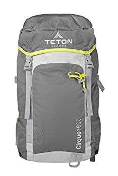TETON Sports Cirque 1600 Backpack  Packable Lightweight Comfortable Daypack for Hiking and Travel  Overnight Bag