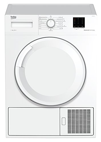 Beko DS7511PA Wärmepumpentrockner/A+++/7 Kg/Knitterschutz/reversierende Trommelbewegung/Aquawave Schontrommel/FlexySense - Elektronische Feuchtemessung/Innenbeleuchtung