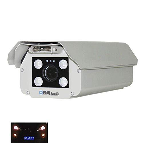 Oba IPA-05HN - Cámara de lectura de matrículas con software integrado LPR 2 megapíxeles Sony Varifocal Lens 9-22 mm IP66 software de reconocimiento Admite microSD