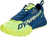 Dynafit Men's Ultra 100 Trail Running Shoes Poseidon/Fluo Yellow 8