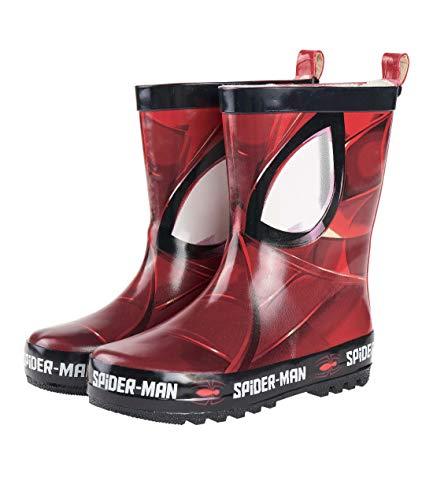 Spider-Man Jungen Regenstiefel Rot 31