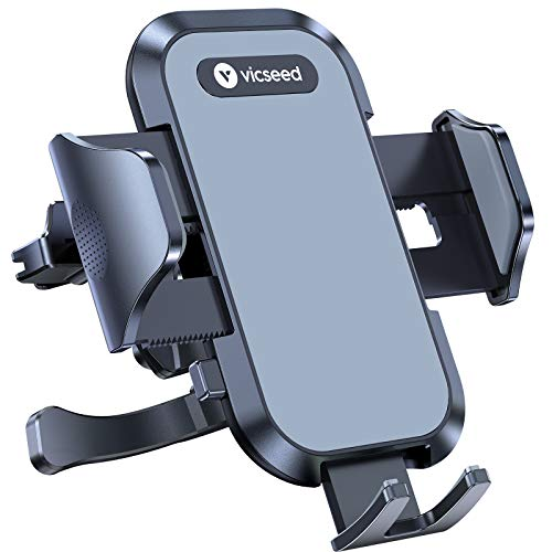 VICSEED Phone Holder for Car [Case Friendly] Ultra Stable Car Phone Holder Mount Air Vent Car Cell Phone Mount Compatible with iPhone 12 11 Pro Max XS SE X XR Galaxy S20 S10 S9 Note 20+ 10+ All Phone