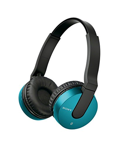 Sony MDRZX550BN Bluetooth and Noise Cancelling Headset (Blue)