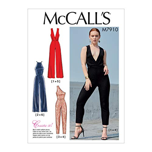 McCall Pattern Company McCall's M7910E5 Create It Women's Special Occasion Jumpsuit Sewing Patterns, Sizes 14-22 Schnittmuster