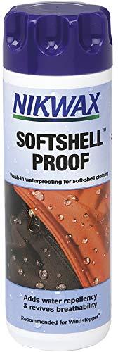 Nikwax Softshell Proof, Einwaschbare Imprägnierung für Softshells, 300 ml