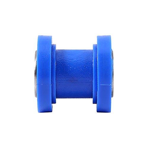 Polea de guía de 10 mm, rueda de guía del tensor, para Dirt Pit Mini Bike Moto ATV(blue)