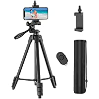 Outsolidep 54 Inch Lightweight Aluminum Travel Camera Tripod