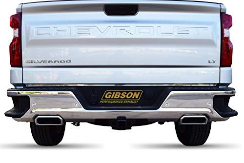 Gibson Performance 65688 Cat-Back Dual Split Exhaust System, Stainless