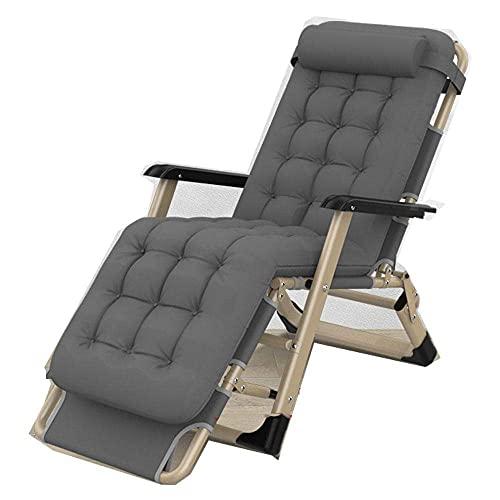 WGFGXQ Folding Recliner,Zero Gravity Chairs, Garden Outdoor Patio Sun Loungers, Folding Reclining Chairs, Multi Position Patio Sunlounger, Reclining Relaxer Chair-2