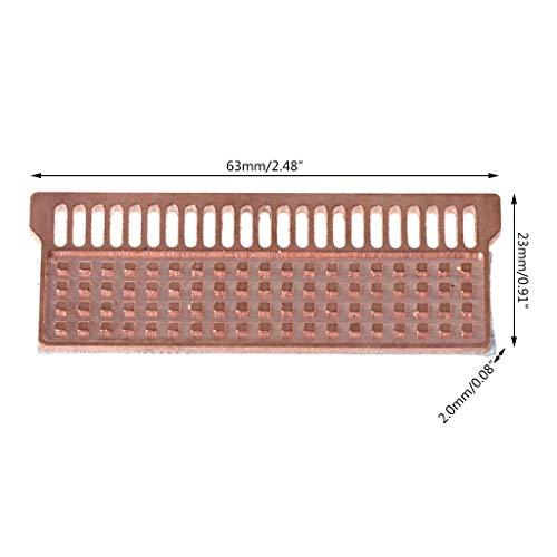 planuuik Notebook Memory Heat Sink Koper Koelplaat Laptop RAM voor DDR1 DDR2 DDR3 DDR4