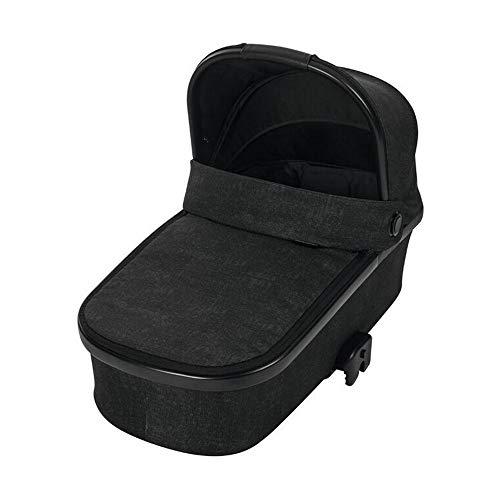 Maxi-Cosi Oria Babywanne, groß, bequem und federleichter Kinderwagenaufsatz, geeignet für Maxi-Cosi-Kinderwagen/Buggys, nutzbar ab der Geburt - 6 Monate, (ca. 0-9 kg), nomad black (schwarz)