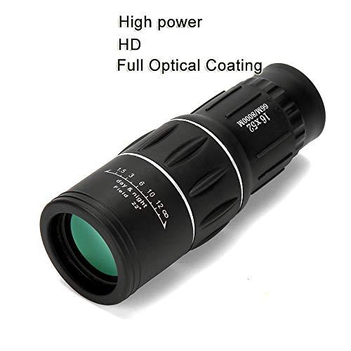 TOT BRQ Erwachsene Vogelbeobachtung High Power HD Monocular-Teleskop 16X52 Sniper Fernglas Tourismus Nachtsicht for die kampierende Jagd-Kind-Geschenk