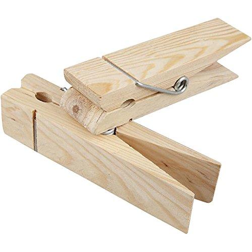 Riesen-Holzklammer, L: 15 cm, Birke, 1 Stck.