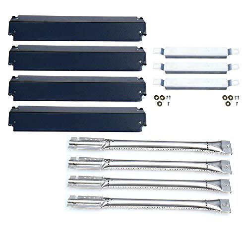 Direct Store Parts Kit DG101 Replacement for Charbroil Gas Grill Burners,Heat Plates and Crossover Tubes