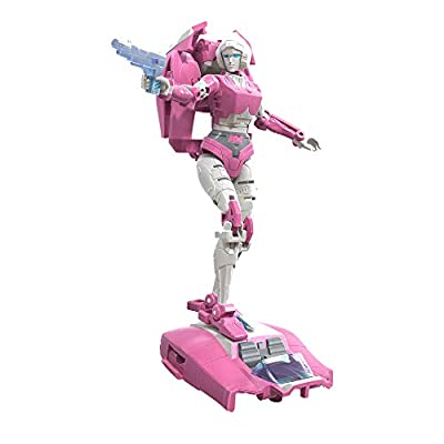 Transformers Toys Generations War for Cybertron: Earthrise Deluxe WFC-E17 Arcee Action Figure - Kids Ages 8 and Up, 5.5-inch from Hasbro