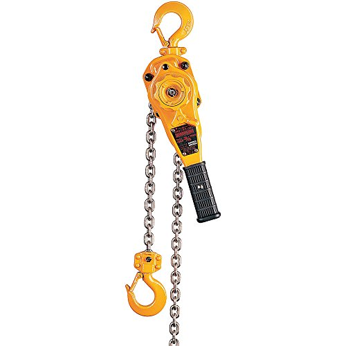 Harrington LB010-15 Lever Hoist, 2000 pounds Load Capacity, 12inches Height, 6inches Width, 5inches Length,