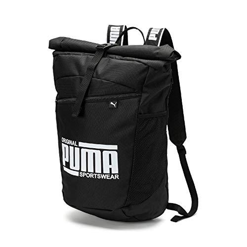 PUMA Unisex– Erwachsene Sole Backpack Rucksack, Black, OSFA