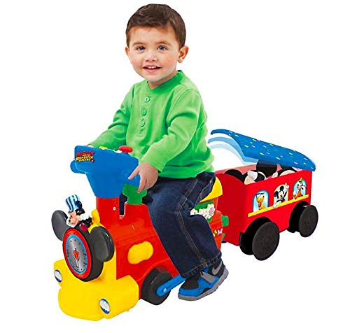 UPD Mickey 2-in1 Battery Powered Activity Choo Choo with Caboose