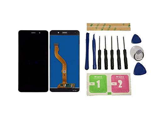 Alas para Huawei Y72017/Y7/Y7Prime/mate 9Lite/Enjoy 7Plus Pantalla LCD pantalla de repuesto Negro Pantalla táctil digitalizador cristal de pantalla Assembly (sin marco) piezas de repuesto & Herramientas & adhesivo