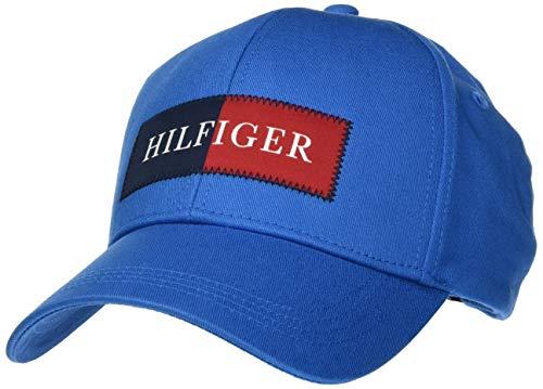 Tommy Hilfiger Hilfiger Cap Gorra de béisbol, Azul (Regatta Blue C), Talla...