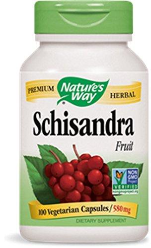 Nature's Way Complément alimentaire à base de baie de schisandra - 100 capsules