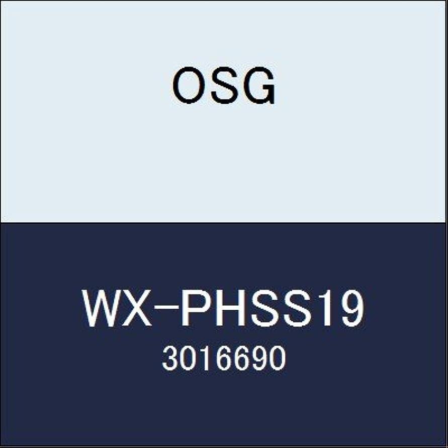 女の子不当皮OSG エンドミル WX-PHSS19 商品番号 3016690