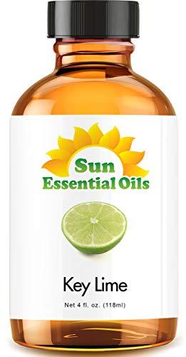 Key Lime Essential Oil (Huge 4oz Bottle) Bulk Key Lime Oil - 4 Ounce