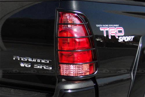 Steelcraft 33250 Compatible with 05-15 Toyota Tacoma TLG BLK Tail Light Guards