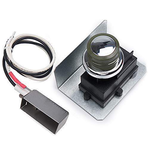 GASPRO 91360 Exact Ignitor Replacement for Weber Spirit 200 and 300 Series Grills (2009-2012) with Side-Controls, Durable Igniter Kit for Weber 91360, Install Easily