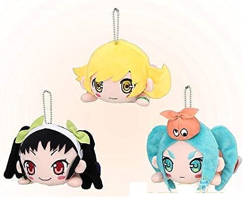 SEGA MONOGATARI series NESIBERI stuffed plush 16cm 3set japan limited goods