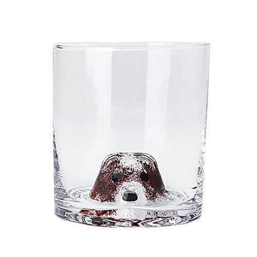 400ml Kreative Tier Glas Tasse Blei-Freies Ultra-Klarheit Glas Wein Glas Bier Glas für Bier Wasser wein Whiskey Tee Geschenke
