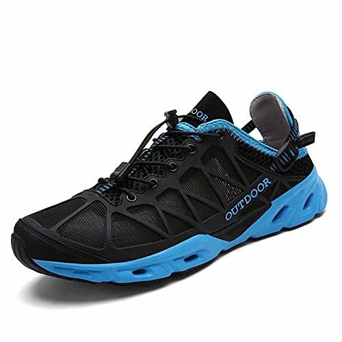 Hombre Mujer Zapatillas Senderismo Zapatos de Agua Monta Escarpines Deportes Acuáticos Ligero Seco Rápido Exterior Deportivas Calzado Caminando Descalzo Unisexo