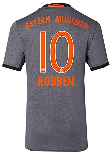 Trikot Adidas FC Bayern München 2016-2017 Away (Robben 10, M)