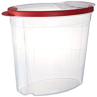 Rubbermaid1.5 gallon Cereal/Snack Storage Container (3 Pack), Red