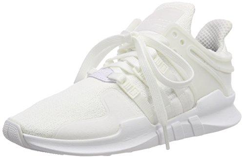 adidas Herren EQT Support ADV Gymnastikschuhe, Elfenbein (FTWR White/FTWR White/core Black), 45 1/3 EU