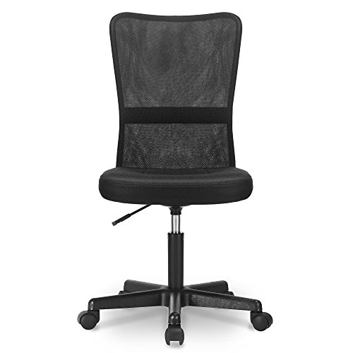 Nobranded Mesh backrest Office Chair Adjustable headrest armrest Reclining Comfortable backrest ergonomically Designed Computer Chair Home Office Black