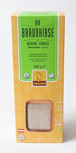 BIO Braunhirse Wildform 500 g gemahlen