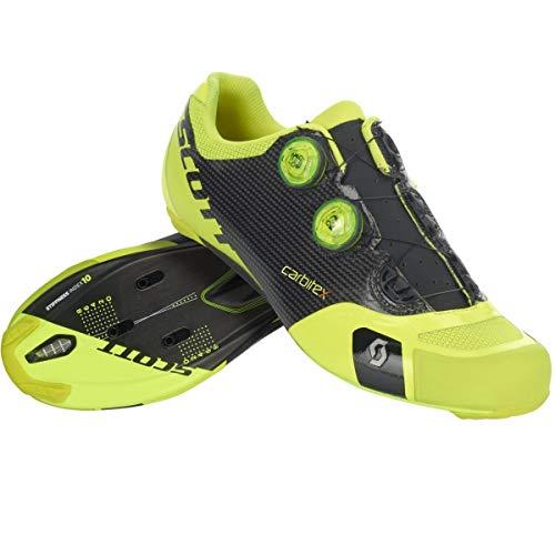Scott Road RC SL Rennrad Fahrrad Schuhe gelb/schwarz 2019: Größe: 45