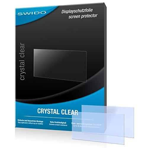 SWIDO Y065121 Made in Germany Premium Qualität Kristallklar Displayschutzfolie für Garmin nüvi 65LMT / 65-LMT (2-er Pack)