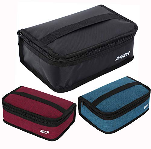 MIER Portable Thermal Insulated Cooler Bag Mini Lunch Bag for Kids